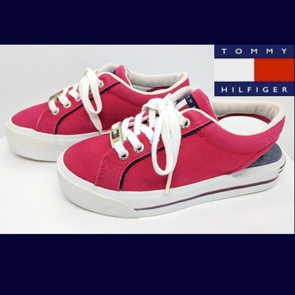 cf6880be017cee Vintage Tommy Hilfiger Platform Slingback Sneakers.  M 5b5fceafdf03072e4cf6223d